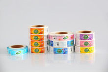 Factory produced printable label adhesive paper