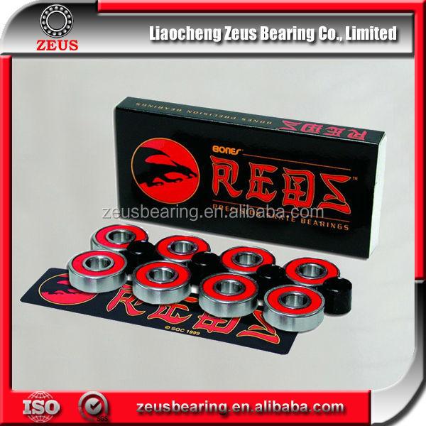 Skateboard Bearings Brands Skateboard Bones Reds Bearings