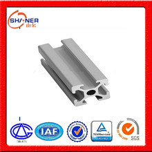 Made in shandong China Extruded T Slot Aluminum Profile 6061 or 6063 alloy