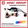 vehicle led headlight kit for jeep wrangler car led head lamp h4
