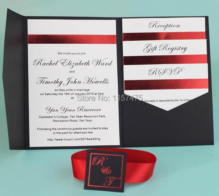 Aliexpresscom buy hi5001 hot sale optional colors for Wedding invitation envelopes for sale