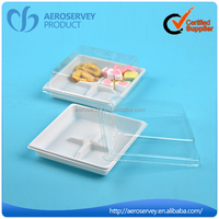 2015 New model airline product business class disposable polystyrene food foam trays