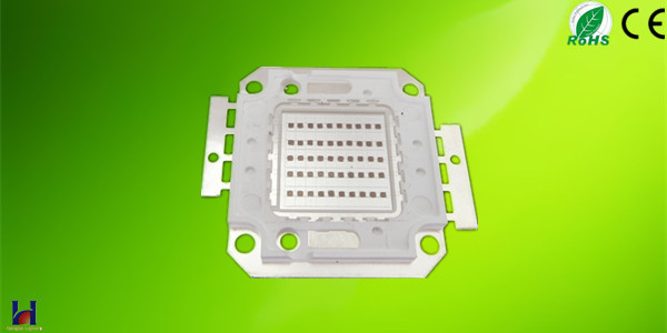 50w red high power led