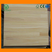 High Quality China supplier board for furniture decorative rubber wood finger joint lamination board
