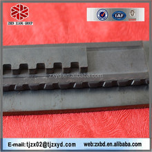 galvanized floor grating steel, GI grating steel serrated flat bar