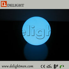 LED furniture hot sale color changing waterproof illuminated floating glowing remote control led modern centerpiece light