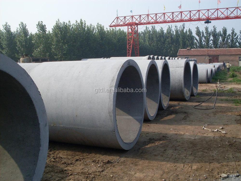 Cement Drain Pipe 24 : Concrete tunnel making machine cement pipe mould of drain