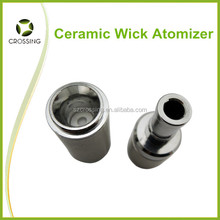 Wholesale 2014 Crossing Top Selling USA no wick no coil HUNTER Ceramic donut Atomizer wax vaporizer , Original Supplier China