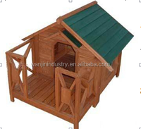 Popular Wooden Pet dog house with Small Yard