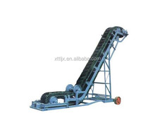 wire guide roller belt conveyor