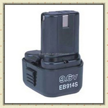 Replacement battery for Hitachi Cordless Drill battery 9.6V EB914S