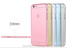 TPU raw materials crystal tpu mobile phone case for iphone 6