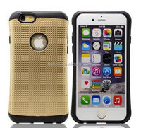 Hot Selling Product 2 In 1 Armor Silicone Phone Case for Iphone 6