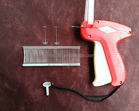 plastic tag gun for fixing tickets with different color and size
