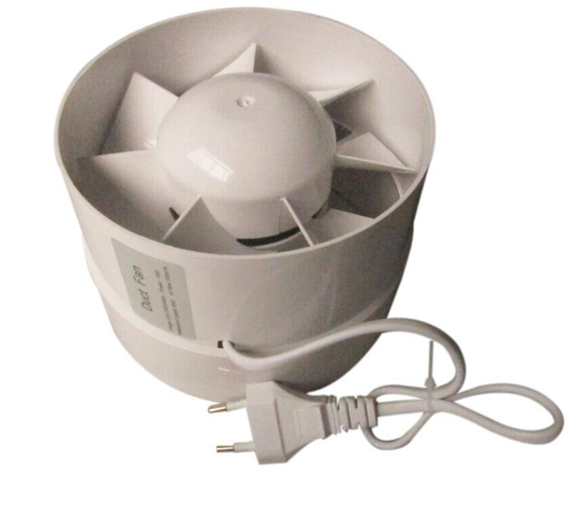 Small Centrifugal Fans : Small plastic centrifugal duct fan rotary ventilation