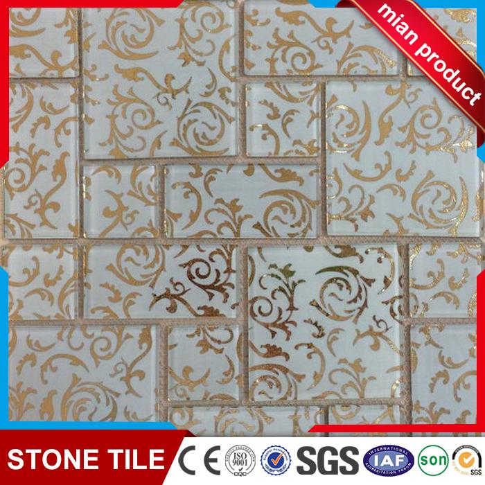 Mozaik karo mermer bali mozaik çini gümüş ayna mozaik vazolar