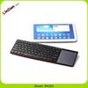Hot Selling Mini Wireless Bluetooth Computer Keyboard Laptop Bluetooth Keyboard With Touchpad