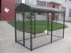 different size powder coated durble dog house ,dog kennel with lock