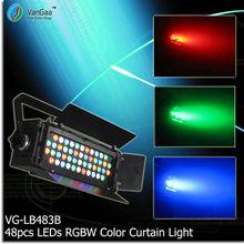 VanGaa 48pcs 3W 4in 1 Full Color LED Sky Backdrop par Light