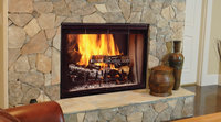 5mm thick Electric Fireplace Glass