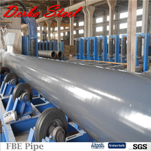 A & A Manufacturer Beveled End X56 Welded Line Pipes Steelpipe FBE Water Pipes