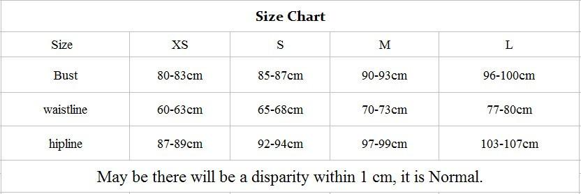 Bikini size