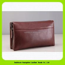 15559 Genuine leather men's bag men travel big wallet leather cigarette case wallet