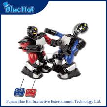 cappello blu telecomando combattendo robot giocattolo per i bambini