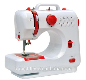خياطة الأكمام إبرة واحدة آلة الخياطة الصغيرة المنزلية fhsm-- 505 مع موضوع funciton