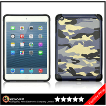 Keno New Arrival Camouflage Heavy Duty Combination Case for iPad Mini Retina