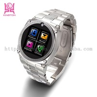 stainless steel wristband watch phone 4.3 android watch phone