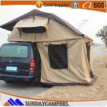 Camping outdoor vehicle Awning roof top tent electric roof tent