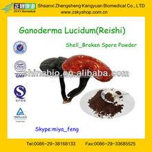 GMP manufacturer supply 100% natural and high quality Reishi spore pwoder