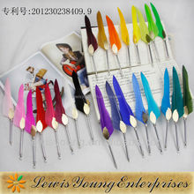 Good for promotion&gift, 2015 hot selling swan feather ballpoint pen