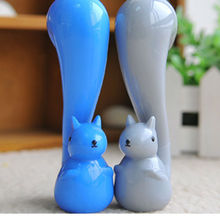 2015 Buy Direct From China Manufacturer Promotional Cute Animal Squirrel Style New Kawaii Ball Pen for School Stationery NN-1008
