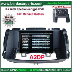 "Upgrated GPS Navigation car Stereo for Renault Koleos with 6.2""touch screen+Keep original CD(Radio) all functions"