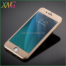 XWG brand Full coverage 9h screen protector for iphone 6 PLUS Titanium alloy tempered glass