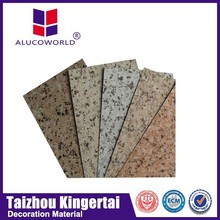 Alucoworld Offering Quality Plastic outdoor Aluminum Composite Panel exterior cork signs walls panels