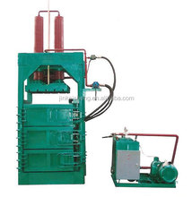 High quality hydraulic PET bottle packer/ vertical hydraulic plastic bottle packing machine
