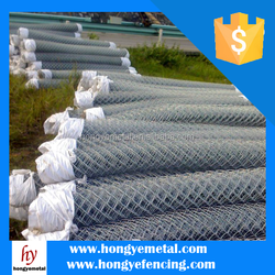 Hot Dipped Galvanized Chain Link / Lowes Chain Link Fences Prices / Used Chain Link Fence for Sale(IISO9001;Manufacturer)