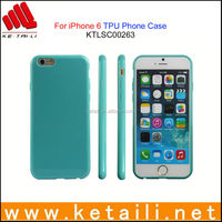 For iPhone 6S Blank TPU Mobile Phone Case Factory