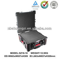 Hard impact tool case for equipment