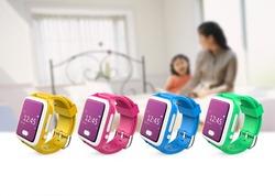 Wonlex gps tracking sensors watch/kids intercom gps watch with cdma sim sos panic button