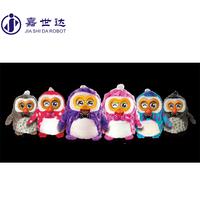 Christmas ornament OWL shape plush toy promotive gift item