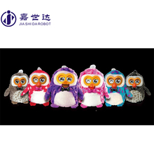 Christmas ornament OWL shape plush toy promotive gift item