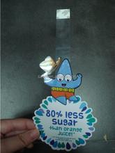 advertising wobbler/swing wobbler for promotion