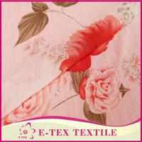 Garments fabric supplier China wholesale Super Plain chiffon curtain fabric