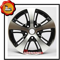 aluminum alloy wheel rim 15 in 5*114.3pcd ET 35 individual with sliver color