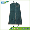 2015 Quality green non woven wedding dress cover bag