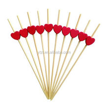 artificial bamboo beaded picks for party foods